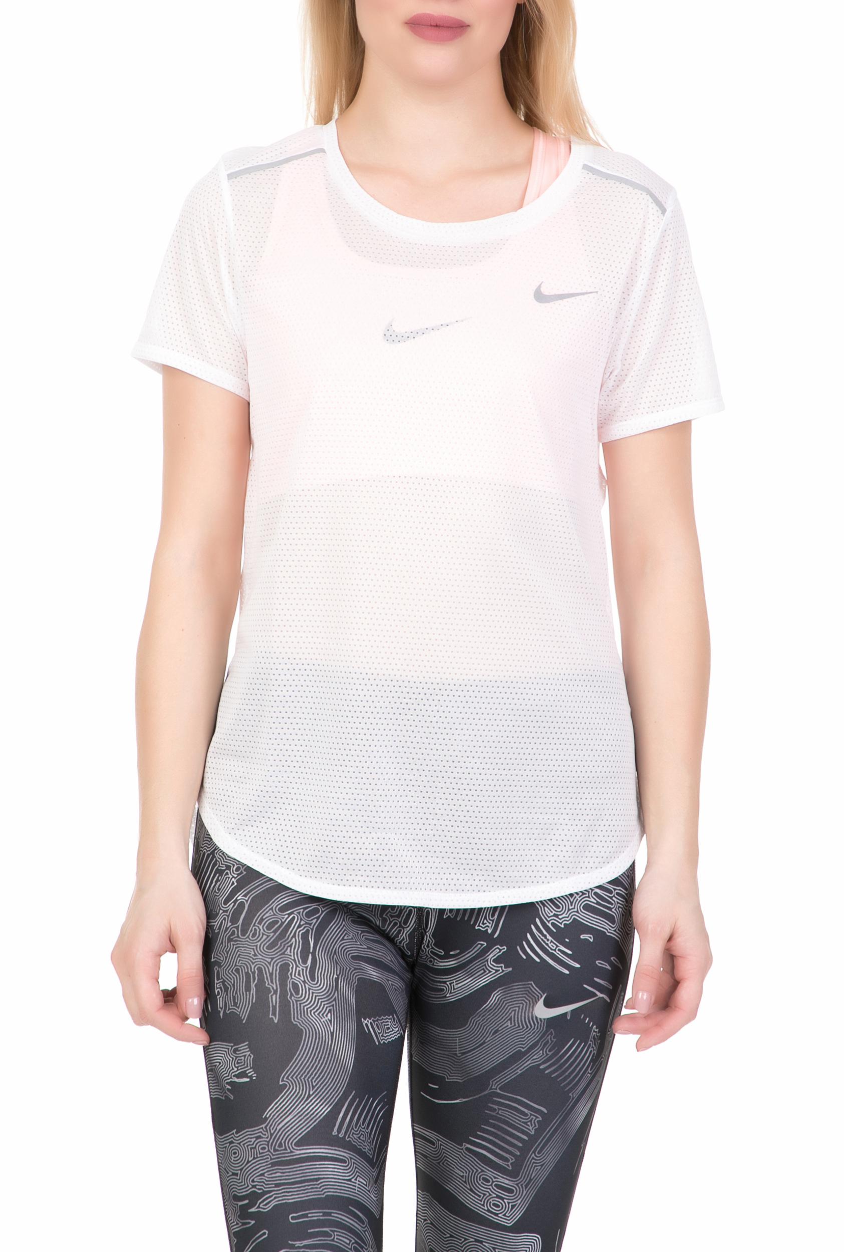 NIKE - Γυναικείο αθλητικό t-shirt NIKE BRTHE λευκό