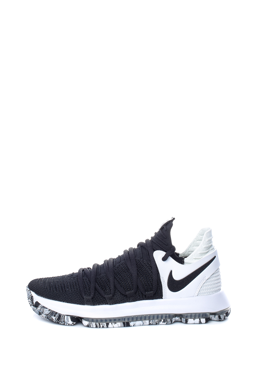 NIKE – Ανδρικά παπούτσια μπάσκετ NIKE ZOOM KD10 μαύρα-λευκά
