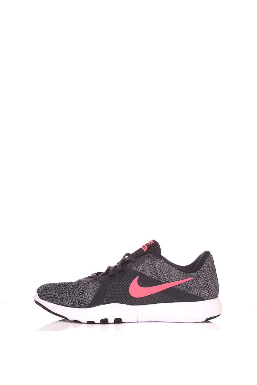 NIKE – Γυναικεία αθλητικά παπούτσια NIKE FLEX TRAINER 8 ανθρακί ροζ
