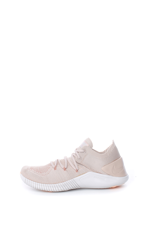 NIKE – Γυναικεία παπούτσια NIKE FREE TR FLYKNIT 3 μπεζ