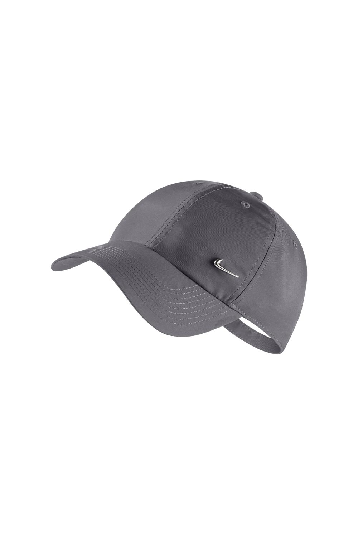 NIKE - Unisex καπέλο NIKE METAL SWOOSH γκρι