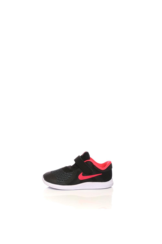 NIKE – Βρεφικά παπούτσια NIKE REVOLUTION 4 (TDV) μαύρα