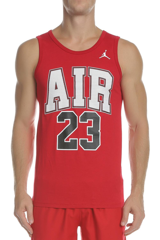 Sport-loft NIKE - Ανδρική φανέλα μπάσκετ NIKE JSW TANK AIR 23 κόκκινη 6644a9a4a6d