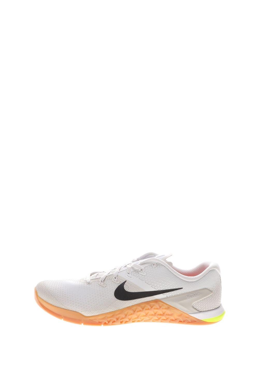 NIKE – Ανδρικά παπούτσια training NIKE METCON 4 λευκά πορτοκαλί