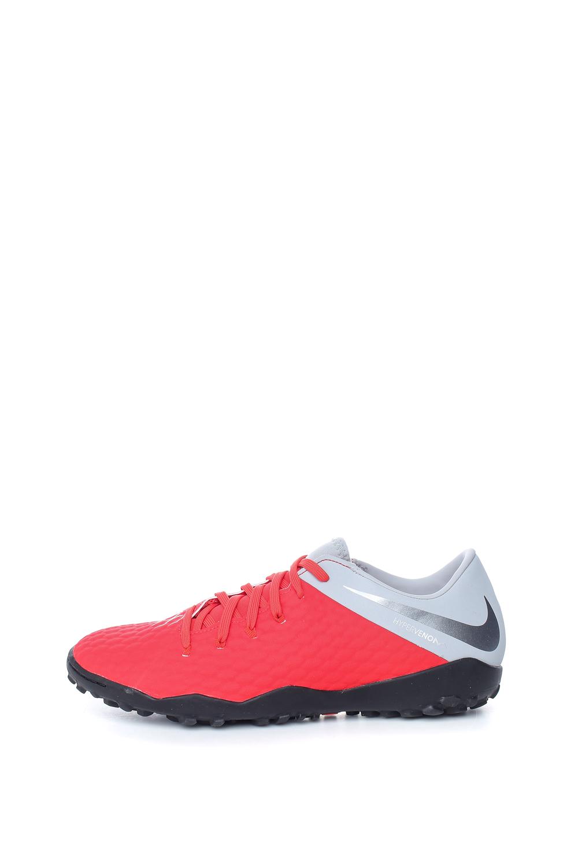 NIKE – Ανδρικά παπούτσια HYPERVENOM 3 ACADEMY TF κόκκινα
