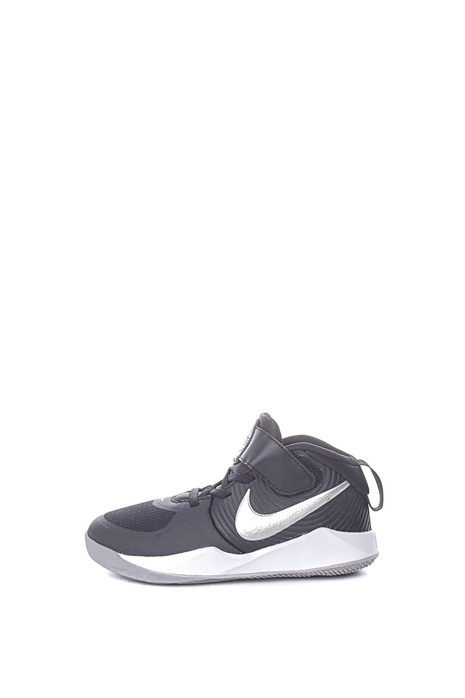 NIKE – Παιδικά παπούτσια basketball NIKE TEAM HUSTLE D 9 (PS) μαύρα