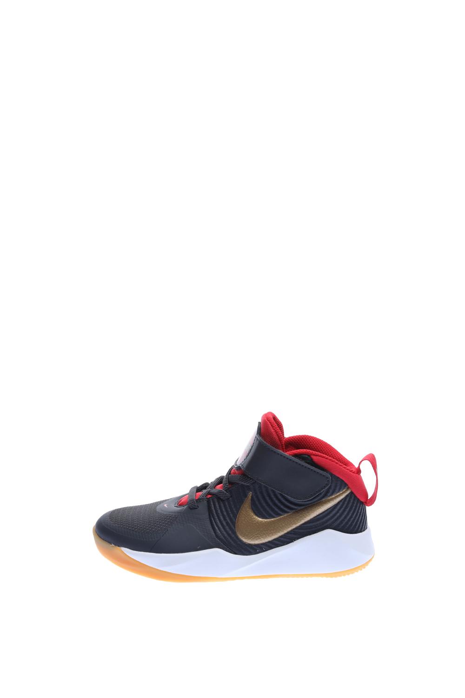 NIKE – Παιδικά παπούτσια μπάσκετ NIKE TEAM HUSTLE D 9 (PS) γκρι