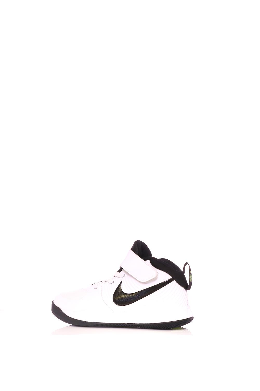 NIKE – Παιδικά παπούτσια basketball NIKE TEAM HUSTLE D 9 (PS) λευκά