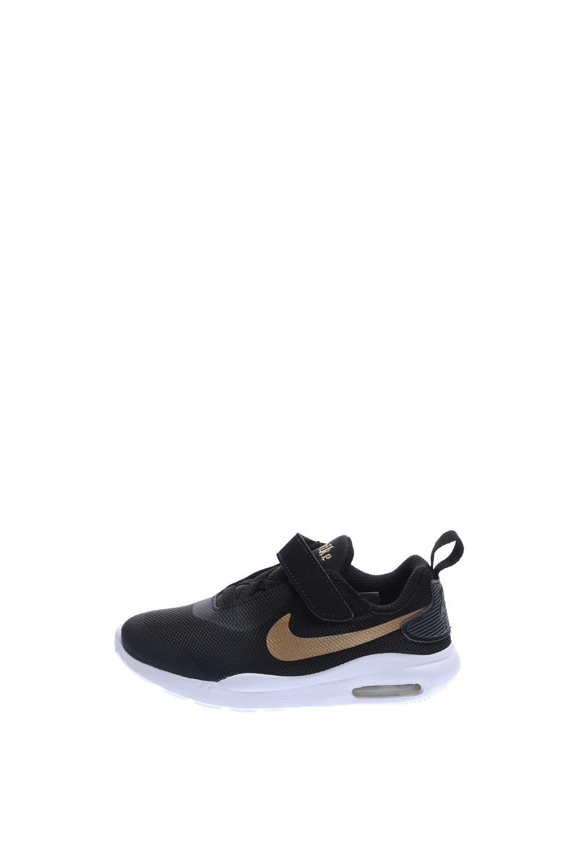 NIKE – Βρεφικά αθλητικά παπούτσια NIKE AIR MAX OKETO VTB (TDV) μαύρα-χρυσά