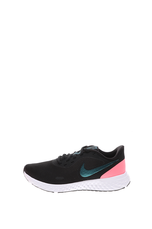 NIKE – Γυναικεία παπούτσια running NIKE REVOLUTION 5 μαύρα πράσινα