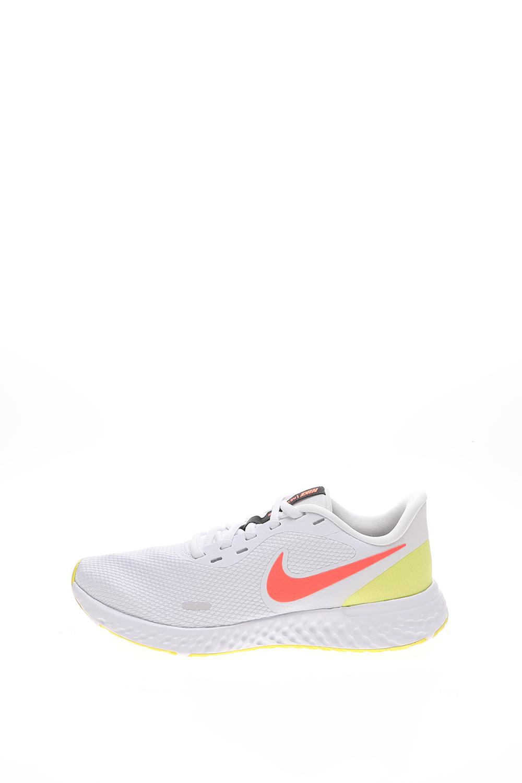 NIKE – Γυναικεία παπούτσια running NIKE REVOLUTION 5 λευκό πορτοκαλί