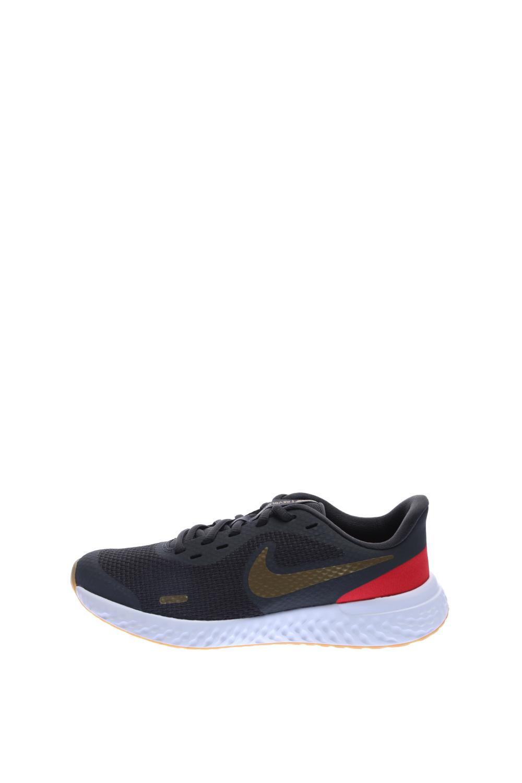 NIKE – Παιδικά παπούτσια running NIKE REVOLUTION 5 (GS) γκρι-χρυσό