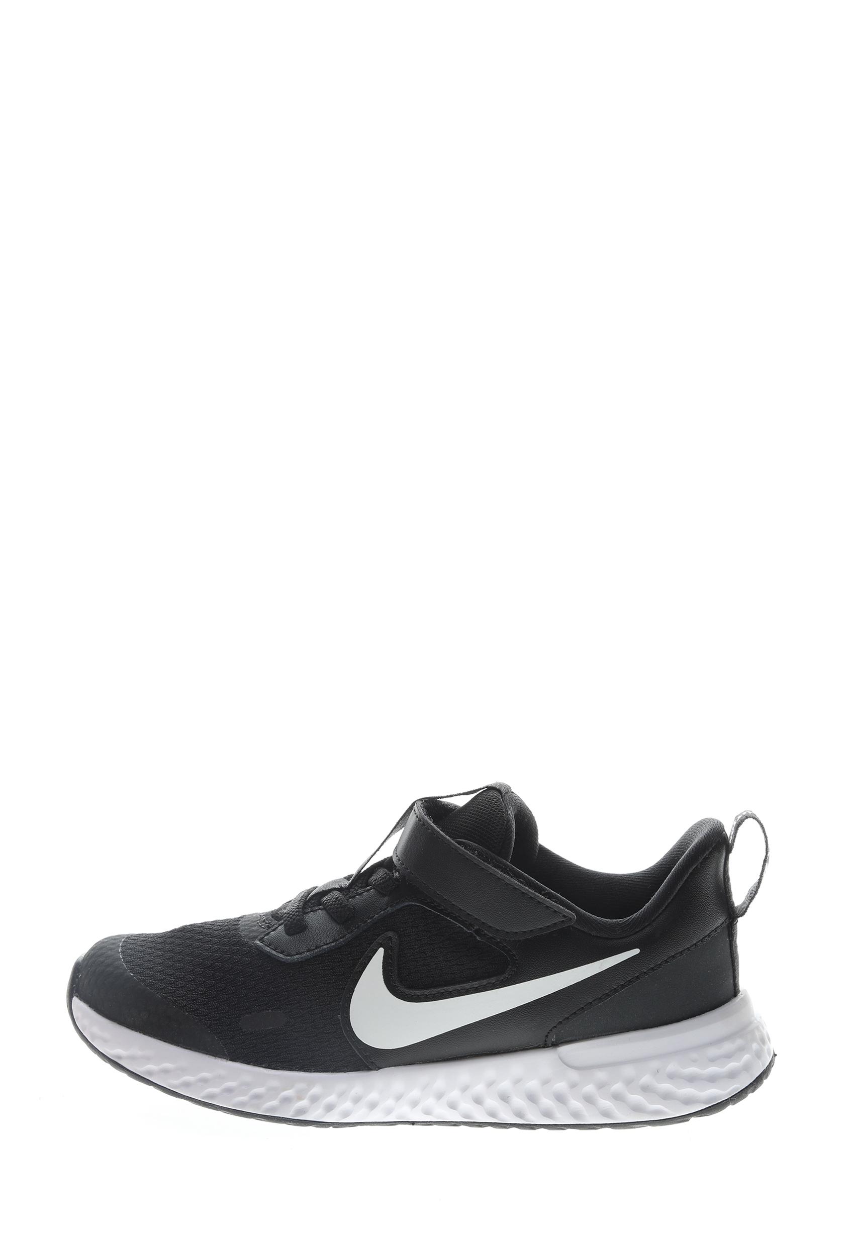 NIKE – Παιδικά παπούτσια running NIKE REVOLUTION 5 (PSV) μαύρα