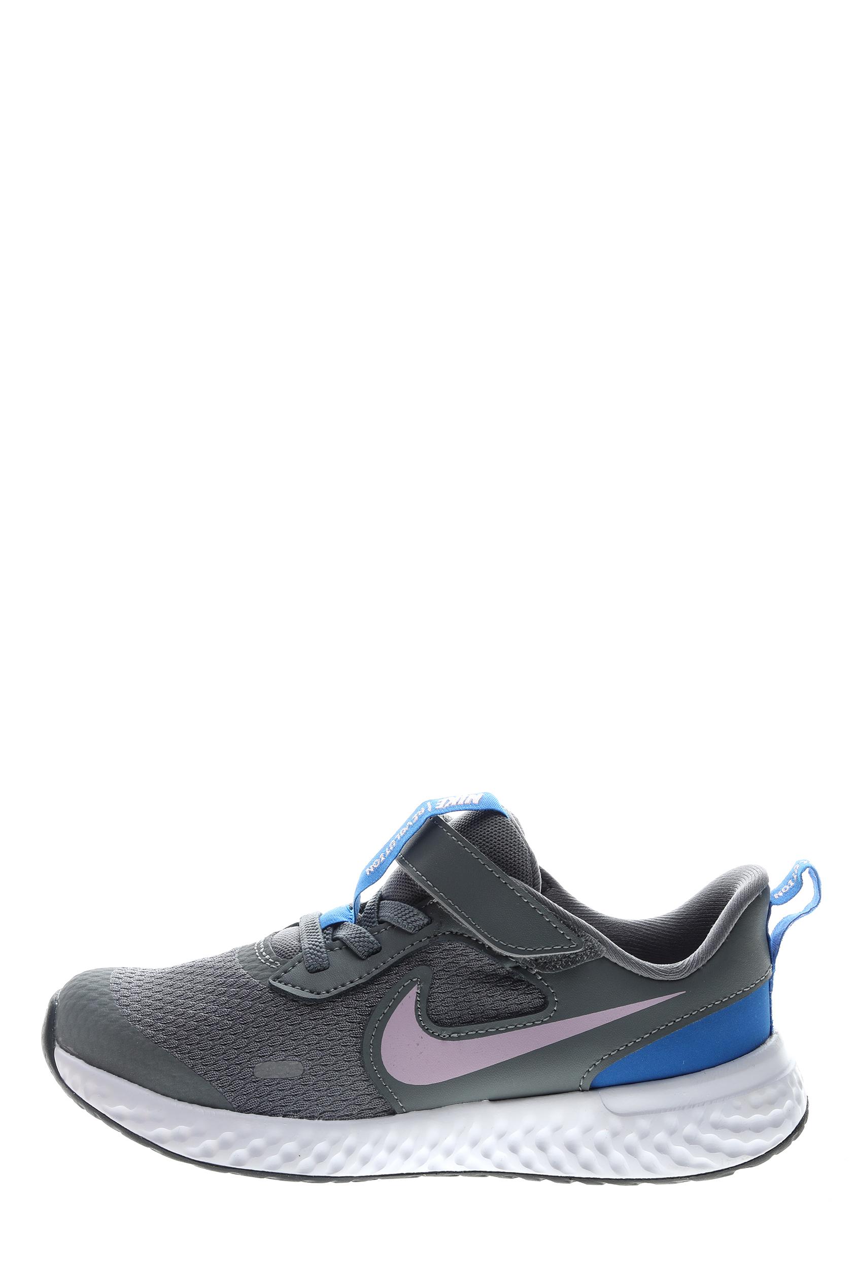 NIKE – Παιδικά παπούτσια running NIKE REVOLUTION 5 γκρι