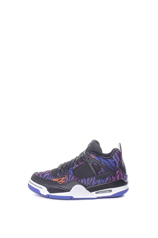 NIKE – Παιδικά παπούτσια basketball NIKE AIR JORDAN 4 RETRO SE (GS) μπλε μοβ
