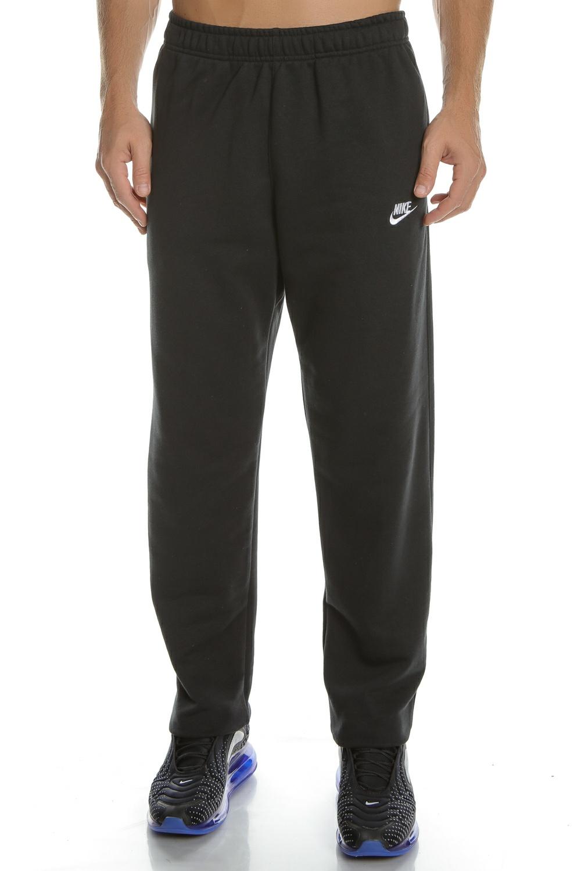 NIKE - Ανδρικό παντελόνι φόρμας NIKE CLUB PANT OH FT μαύρο