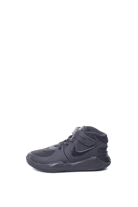 NIKE – Παιδικά παπούτσια basketball NIKE TEAM HUSTLE D 9 FLYEASE (PS) μαύρα