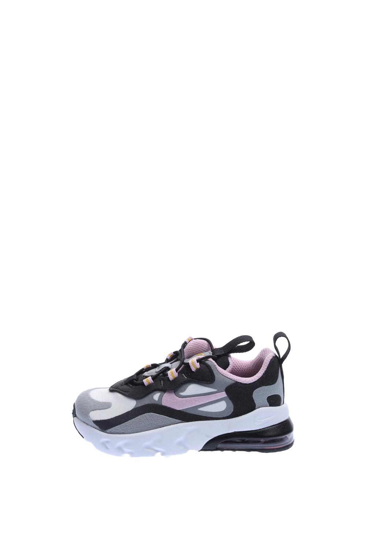 NIKE – Παιδικά παπούτσια NIKE AIR MAX 270 RT (TD) γκρι ροζ