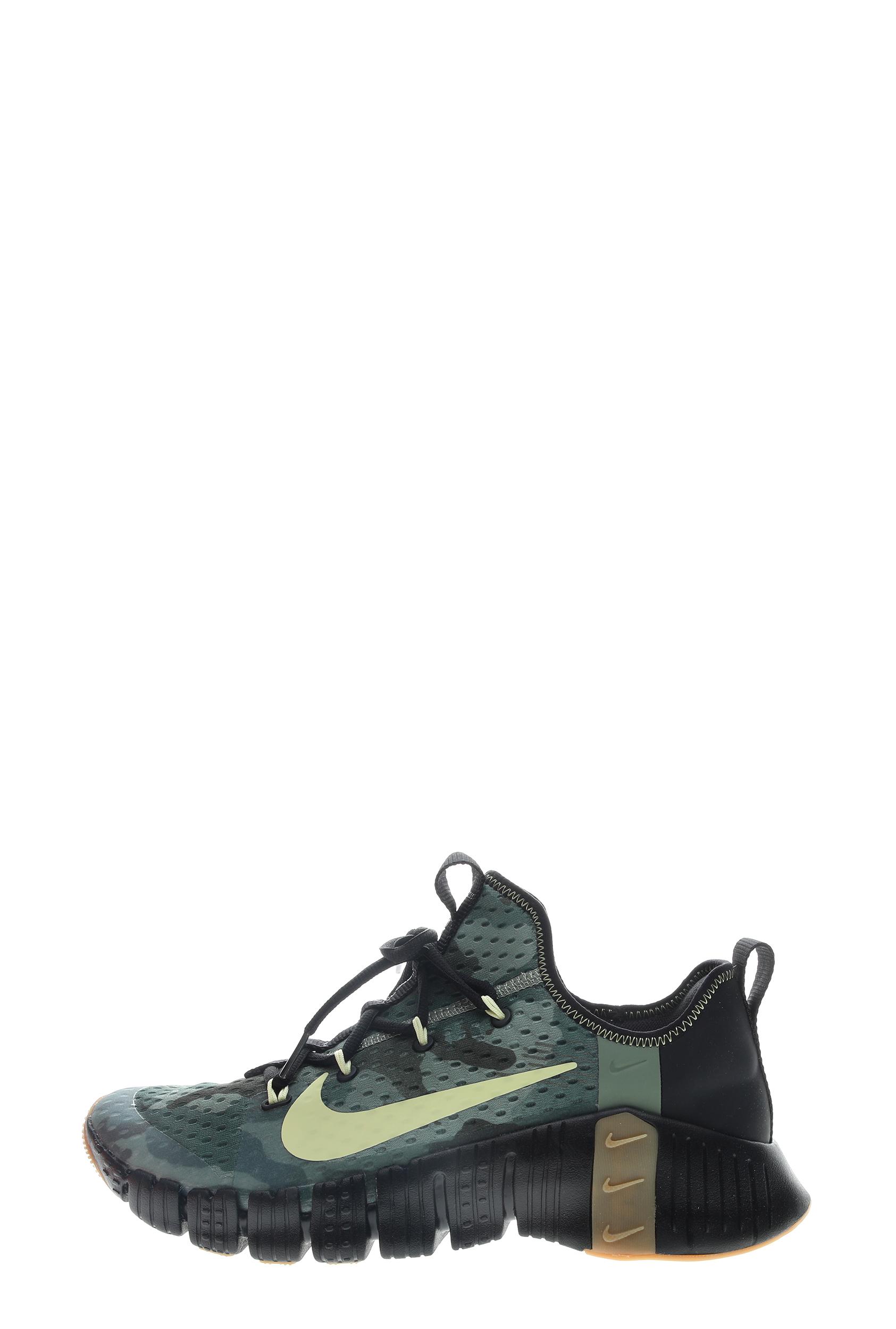 NIKE – Unisex παπούτσια training NIKE Free Metcon 3 ανθρακί χακί