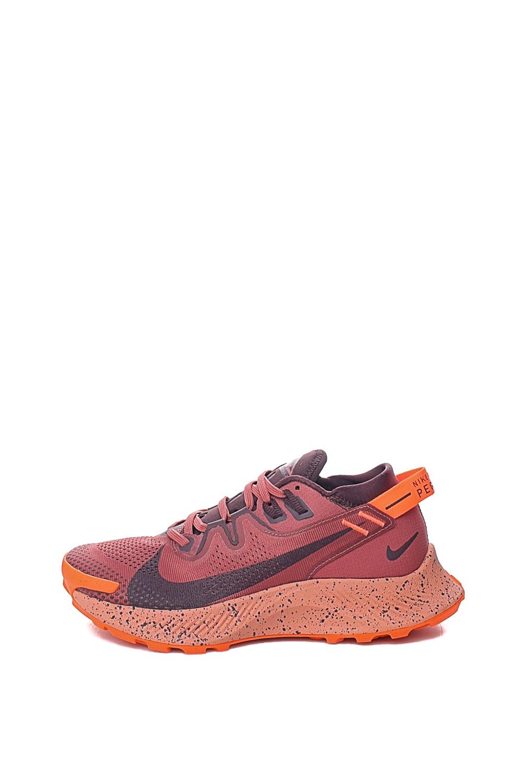 NIKE – Γυναικεία παπούτσια running NIKE PEGASUS TRAIL 2 καφέ κόκκινα