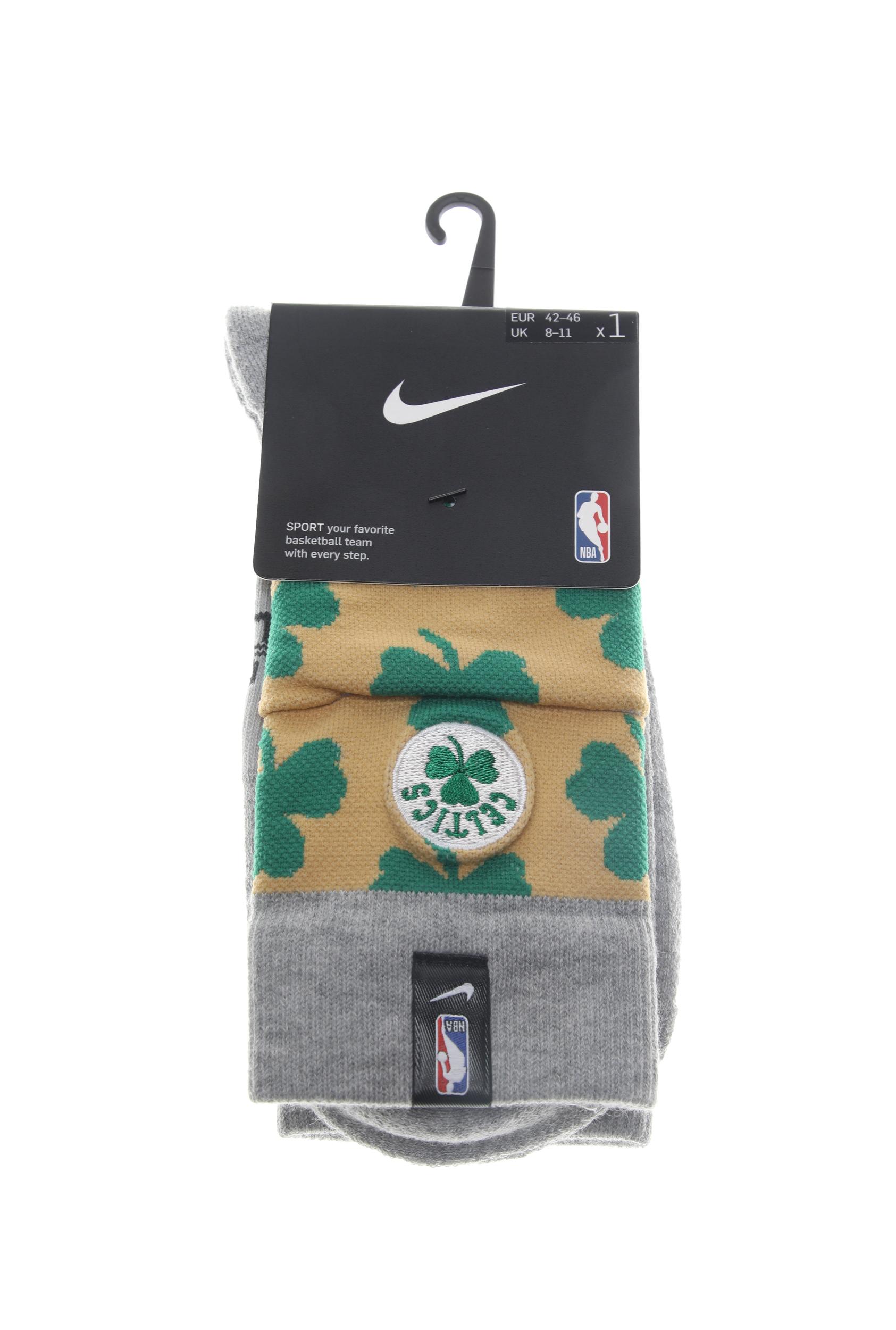 NIKE - Unisex κάλτσες basketball NIKE BOS U NK CREW - NBA CTS γκρι