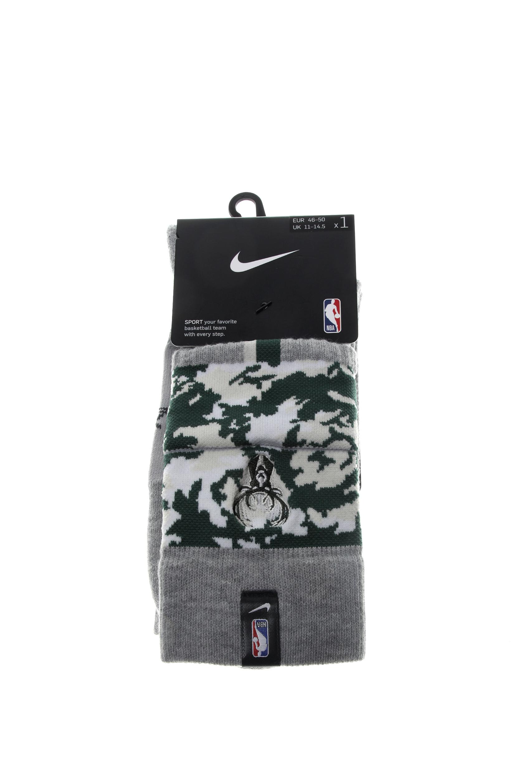 NIKE - Unisex κάλτσες basketball NIKE MIL U NK CREW - NBA CTS γκρι
