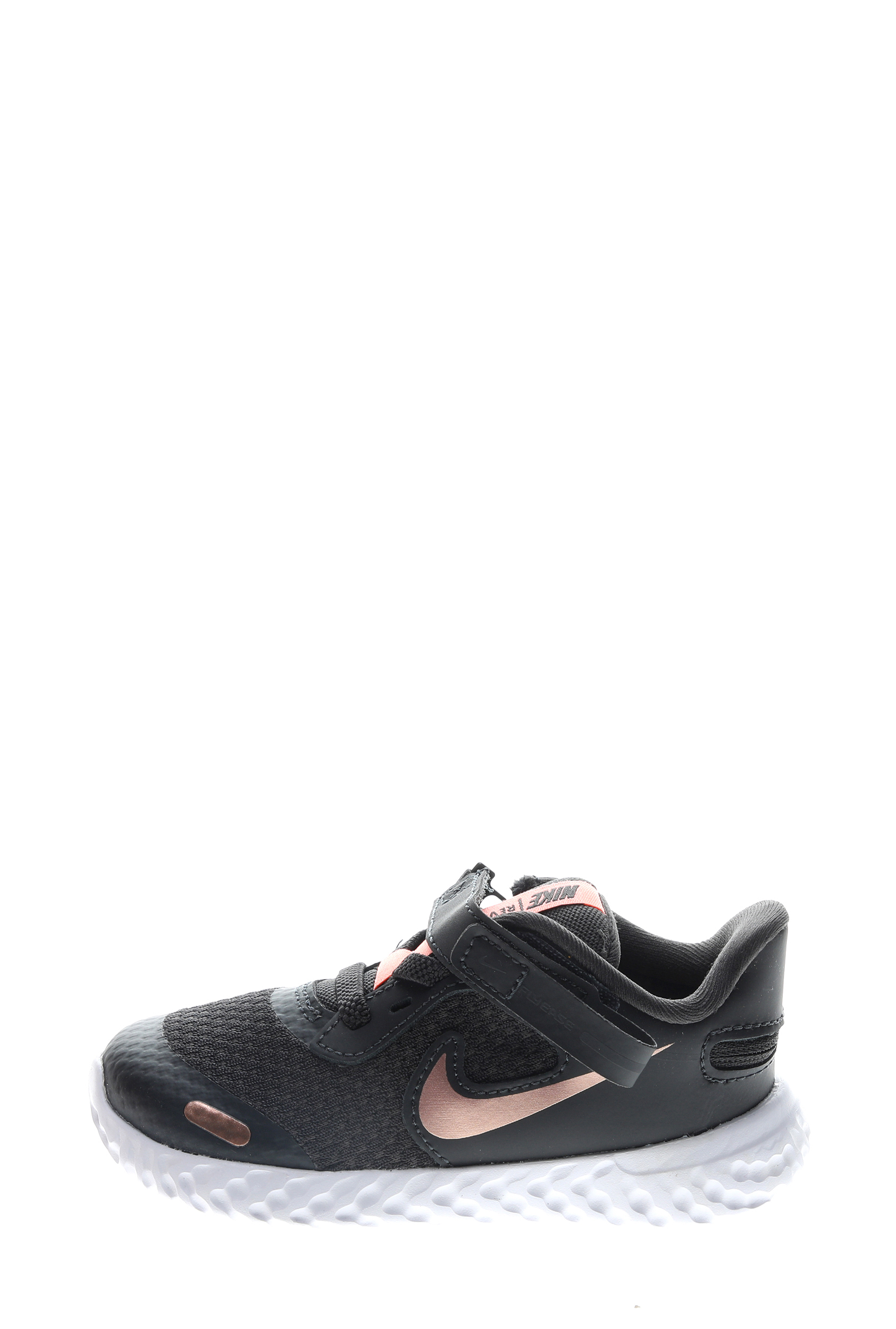 NIKE – Βρεφικά αθλητικά παπούτσια Nike Revolution 5 FLYEASE (TDV) μαύρα χρυσά