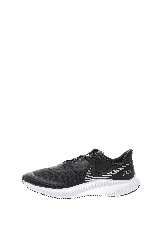 NIKE – Ανδρικά παπούτσια running NIKE QUEST 3 SHIELD μαύρα