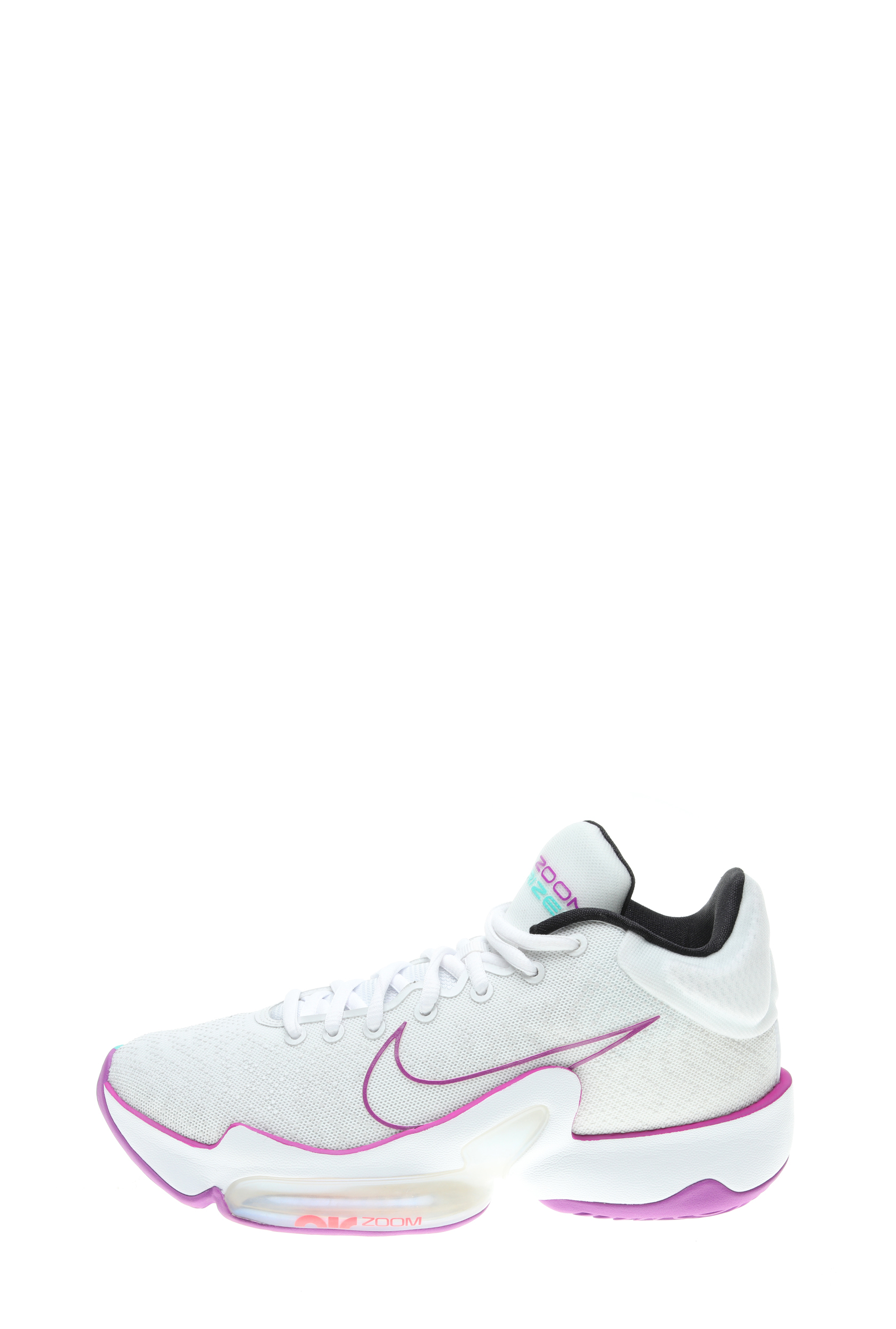 NIKE – Unisex παπούτσια μπάσκετ NIKE ZOOM RIZE 2 λευκό-μοβ