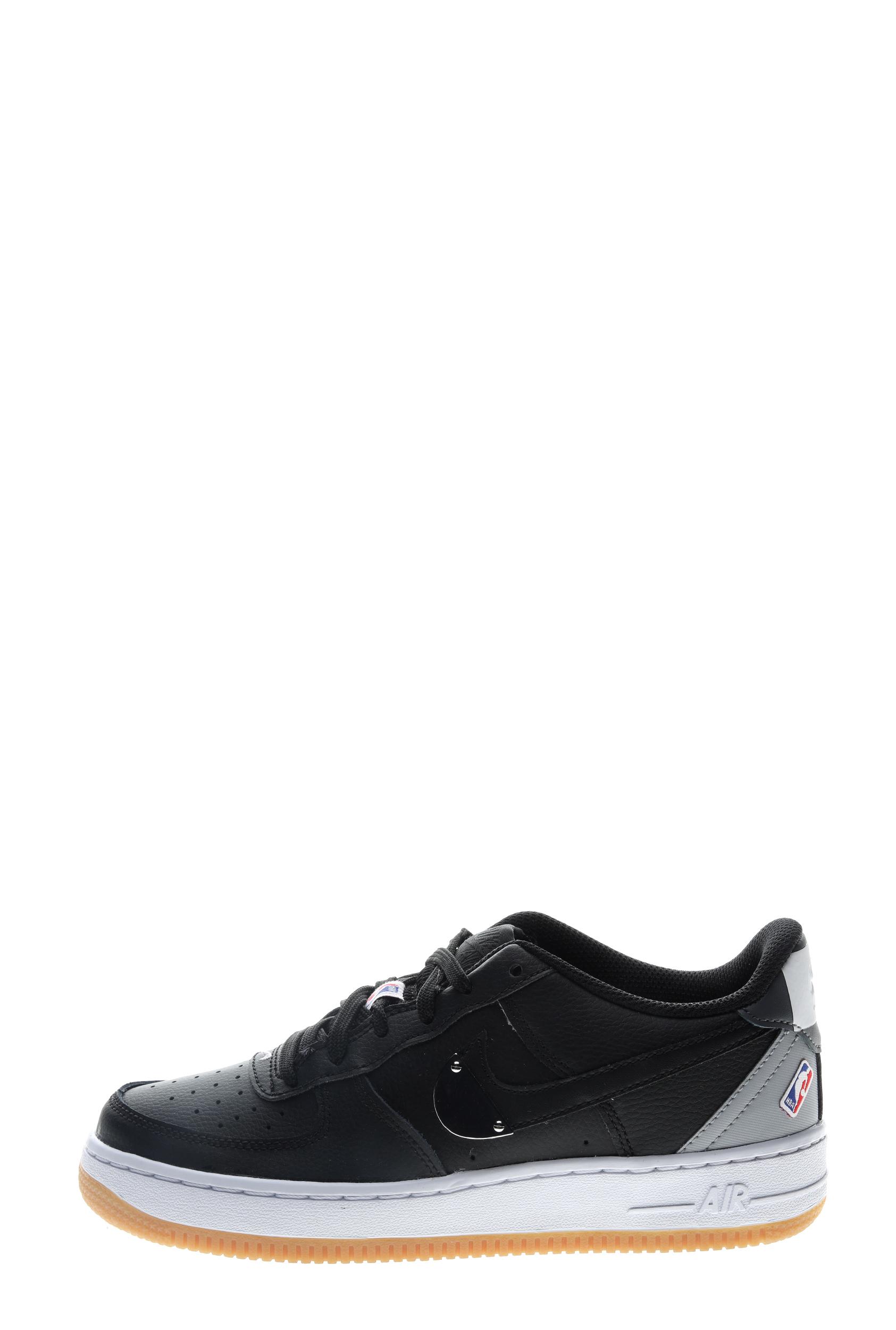 NIKE – Παιδικά sneakers NIKE AIR FORCE 1 LV8 1 HO20 (GS) μαύρα γκρι