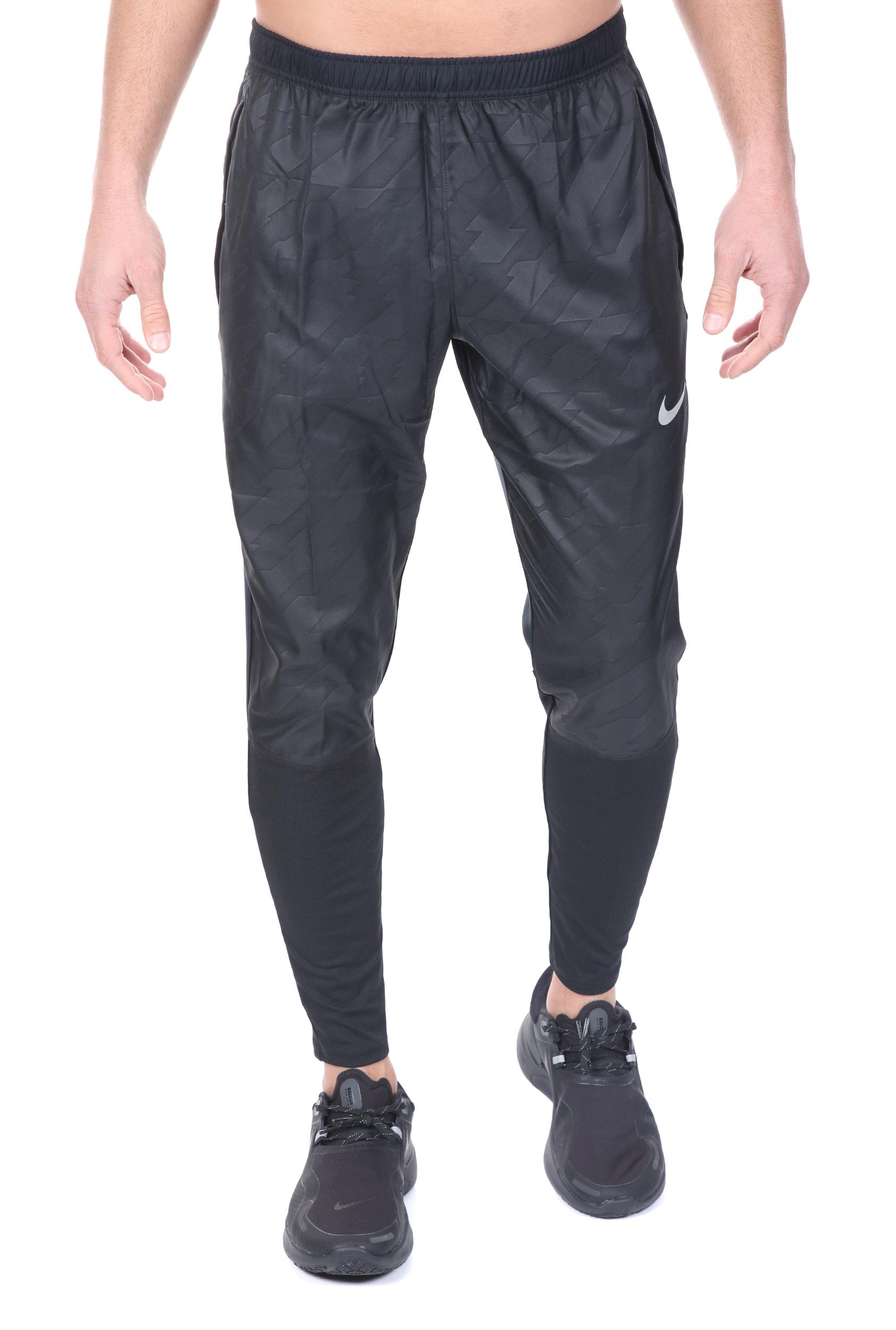 NIKE - Ανδρικό παντελόνι φόρμας NIKE ESSN HYB FF PR μαύρο