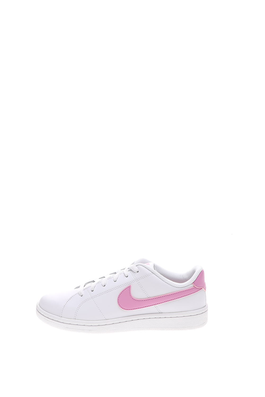 NIKE – Γυναικεία sneakers NIKE COURT ROYALE 2 λευκά ροζ