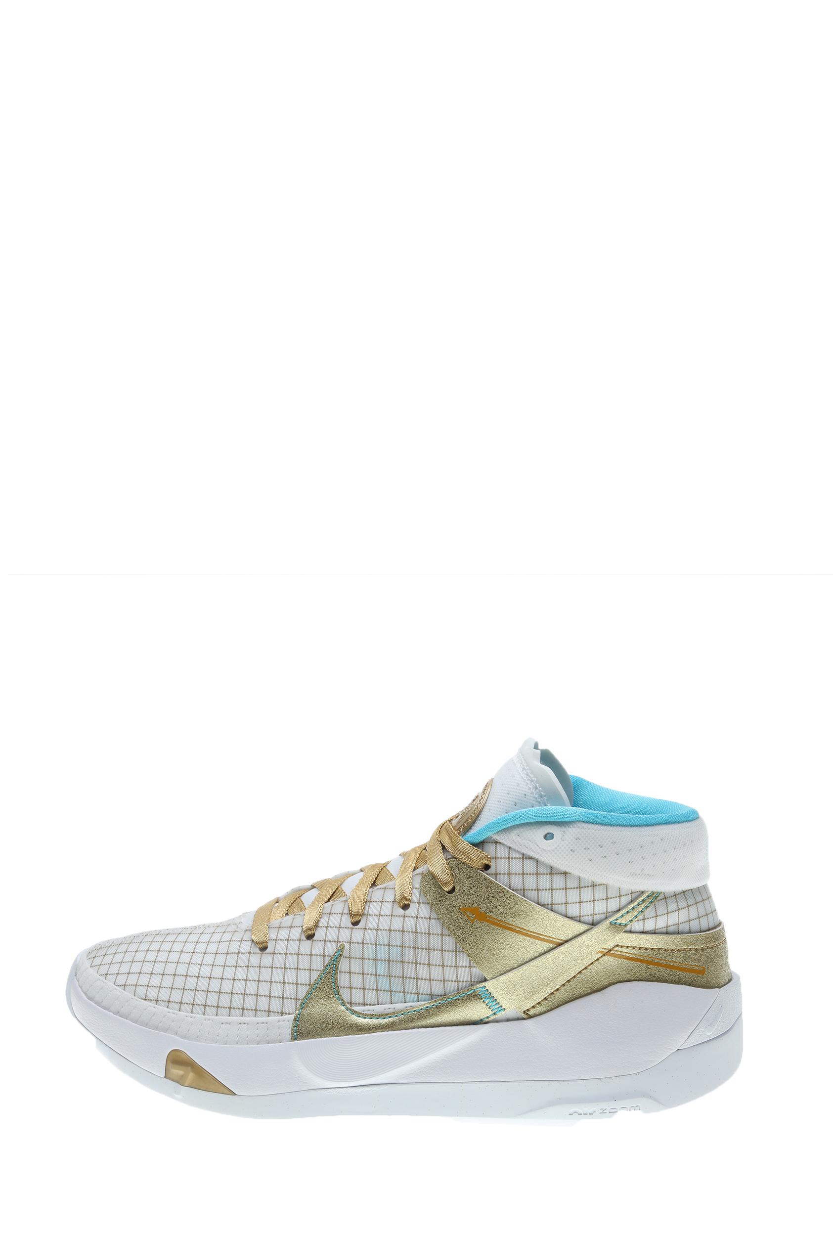 NIKE – Παπούτσι μπάσκετ KD13 λευκό χρυσό