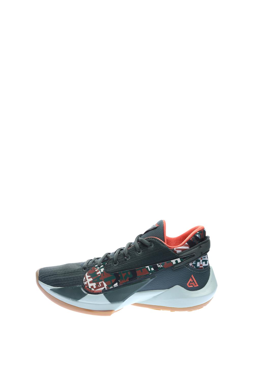 NIKE – Ανδρικά παπούτσια μπάσκετ NIKE ZOOM FREAK 2 χακί