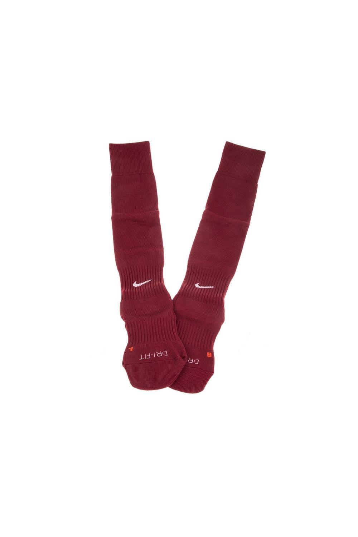 NIKE - Unisex κάλτσες ποδοσφαίρoυ NIKE CLASSIC II CUSH OTC -TEAM μπορντό