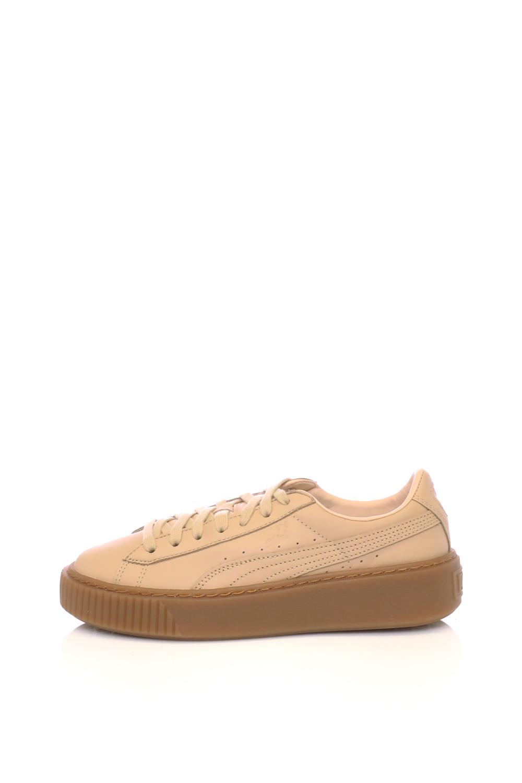 6c35977b8b Collective Online PUMA – Γυναικεία παπούτσια Platform Veg Tan PUMA μπεζ