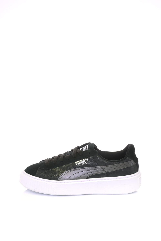 5ee8c887a2 Collective Online PUMA – Γυναικεία αθλητικά παπούτσια Suede Platform Safar  PUMA μαύρα