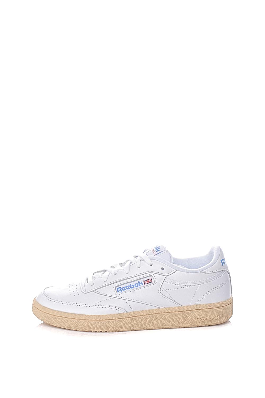 REEBOK – Γυναικεία αθλητικά παπούτσια REEBOK CLUB C 85 λευκά