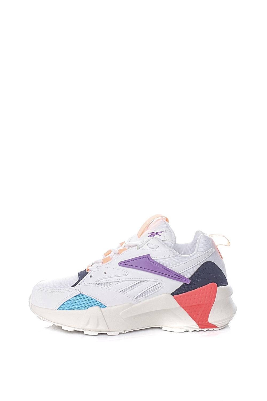 REEBOK – Γυναικεία αθλητικά παπούτσια REEBOK AZTREK DOUBLE MIX POPS λευκά
