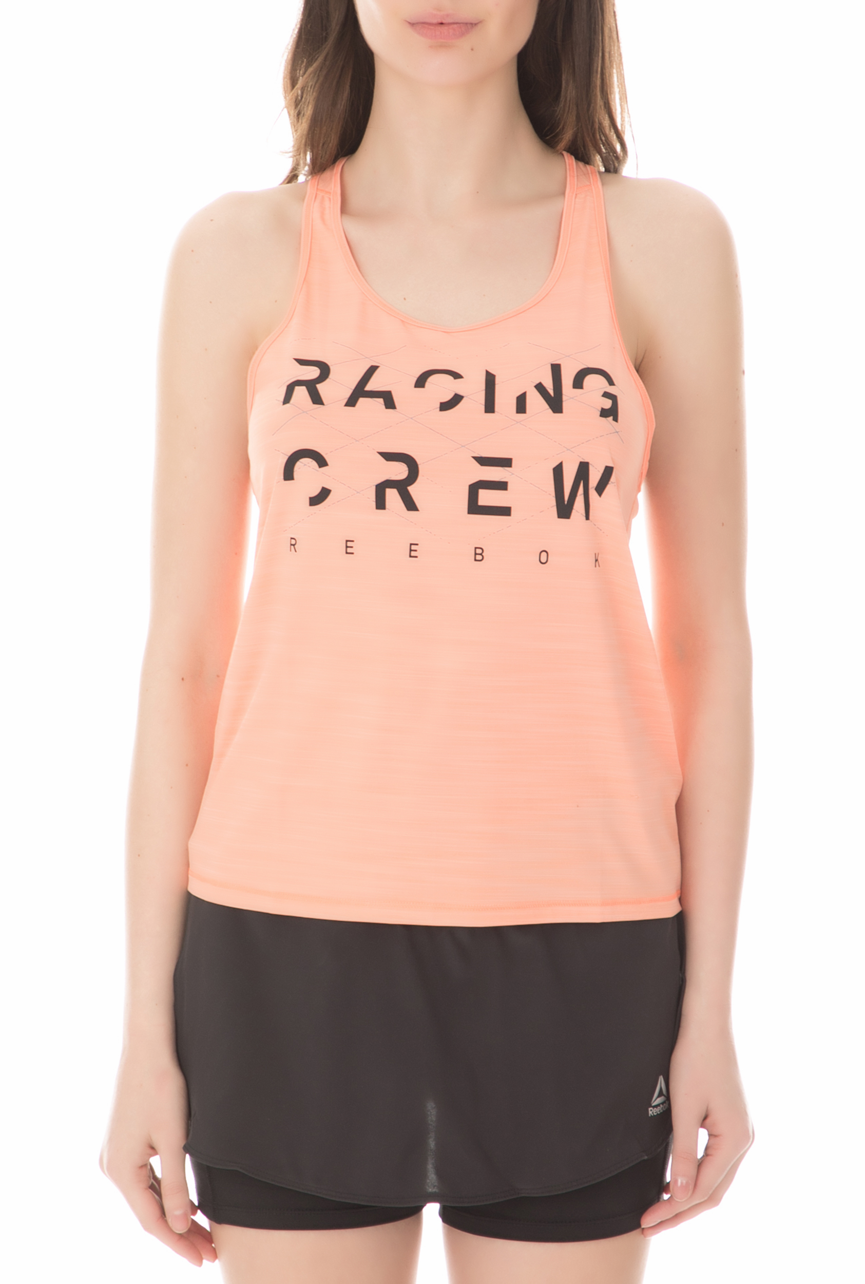 Reebok Fitness - Γυναικεία αμάνικη μπλούζα Reebok OSR AC πορτοκαλί
