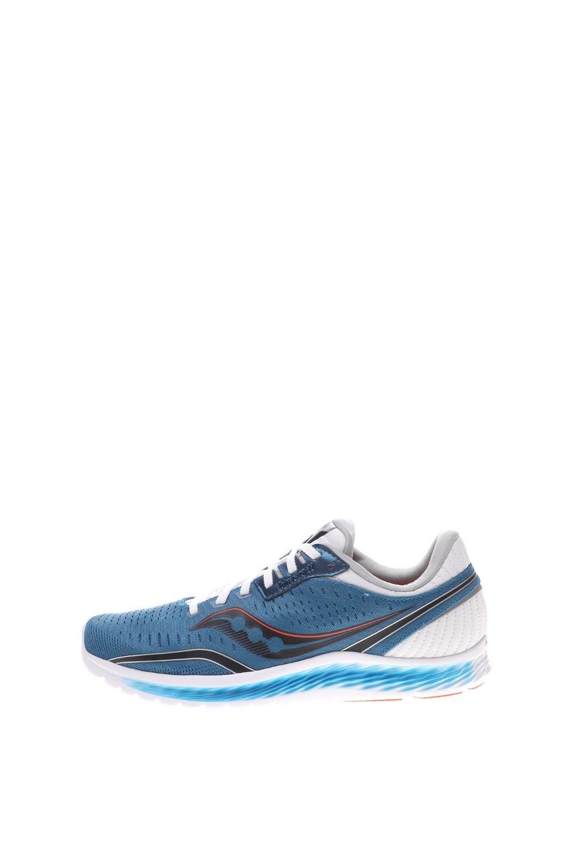 SAUCONY – Ανδρικά παπούτσια running SAUCONY KINVARA 11 FOOTWEAR μπλε λευκά