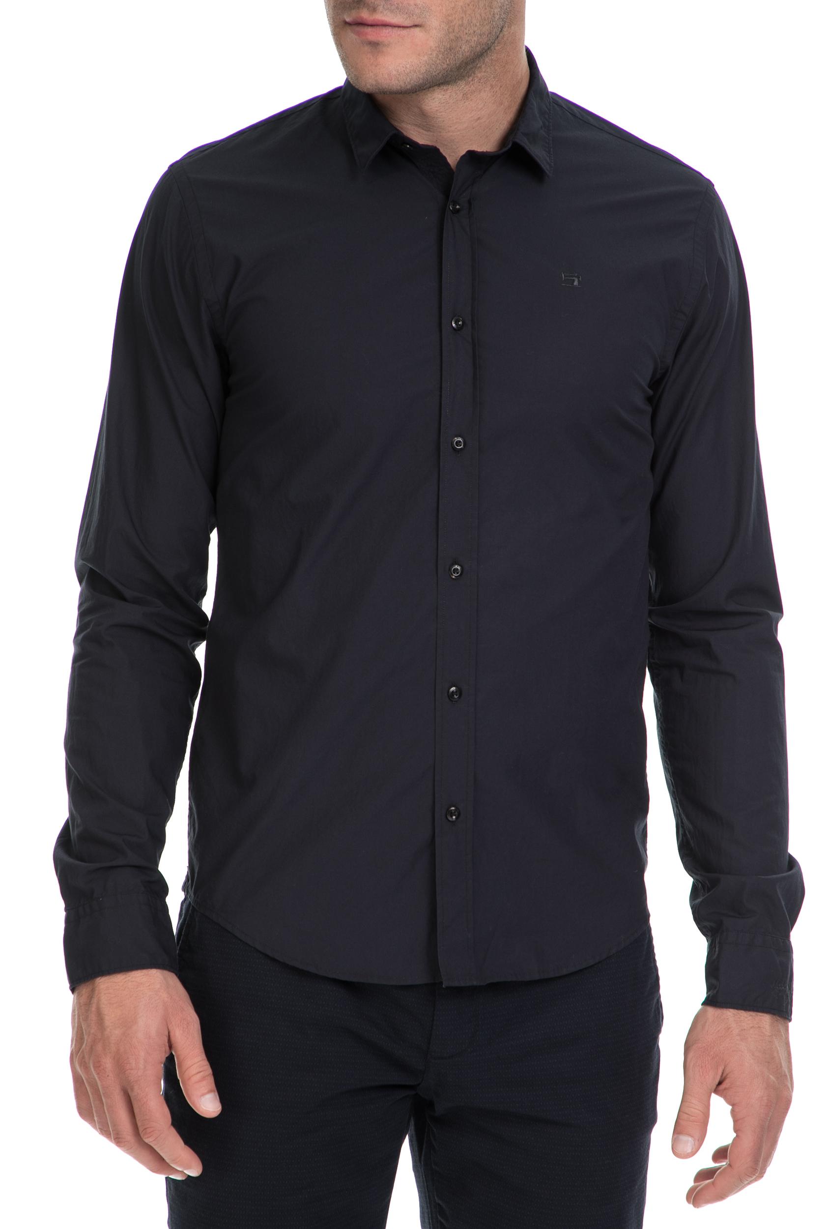 6e9e9a4397ff SCOTCH   SODA - Ανδρικό πουκάμισο SCOTCH   SODA μαύρο