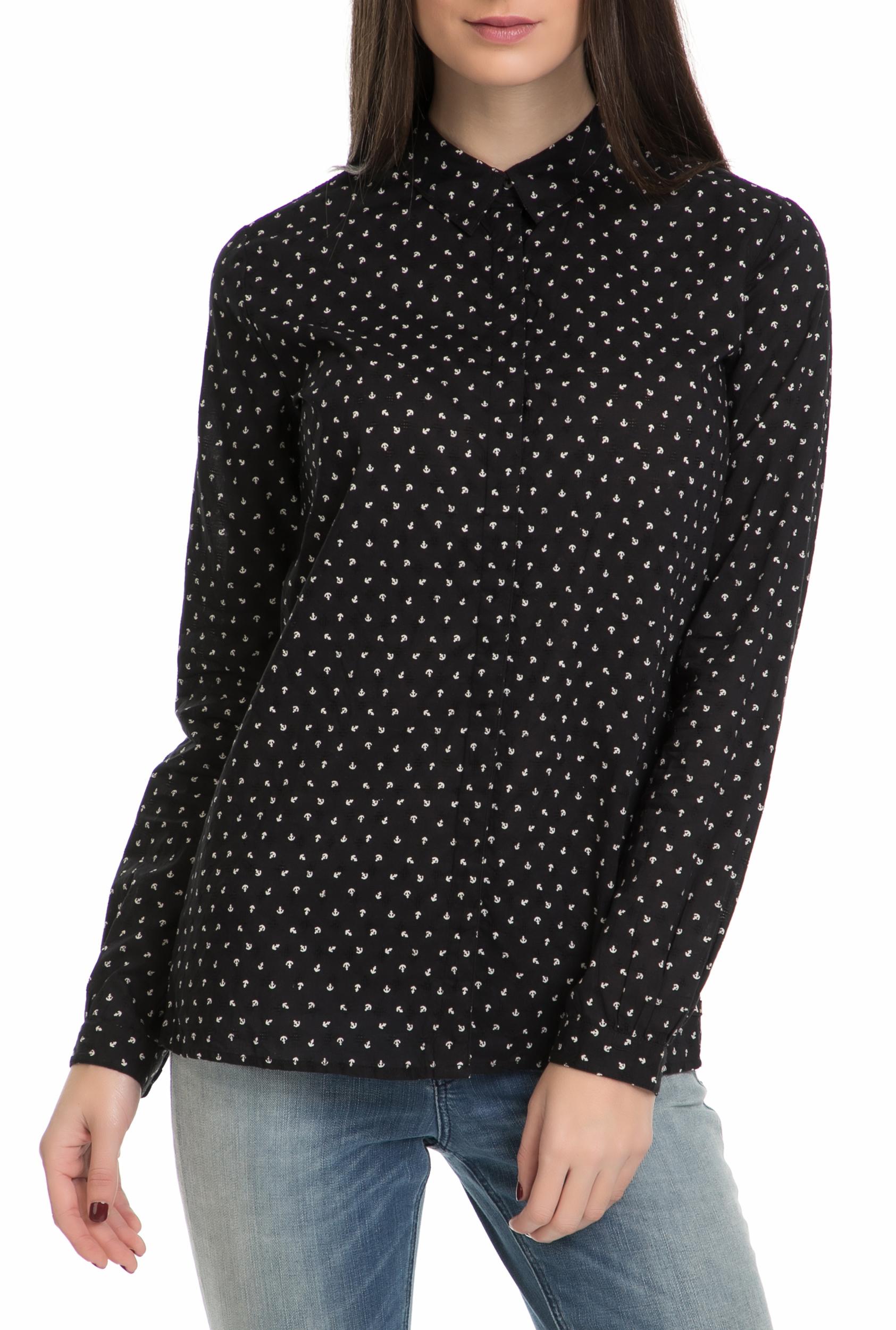 SCOTCH & SODA - Γυναικείο πουκάμισο SCOTCH & SODA μαύρο