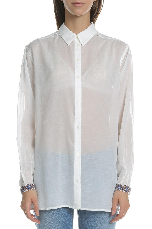 SCOTCH & SODA - Γυναικείο πουκάμισο SCOTCH & SODA λευκό
