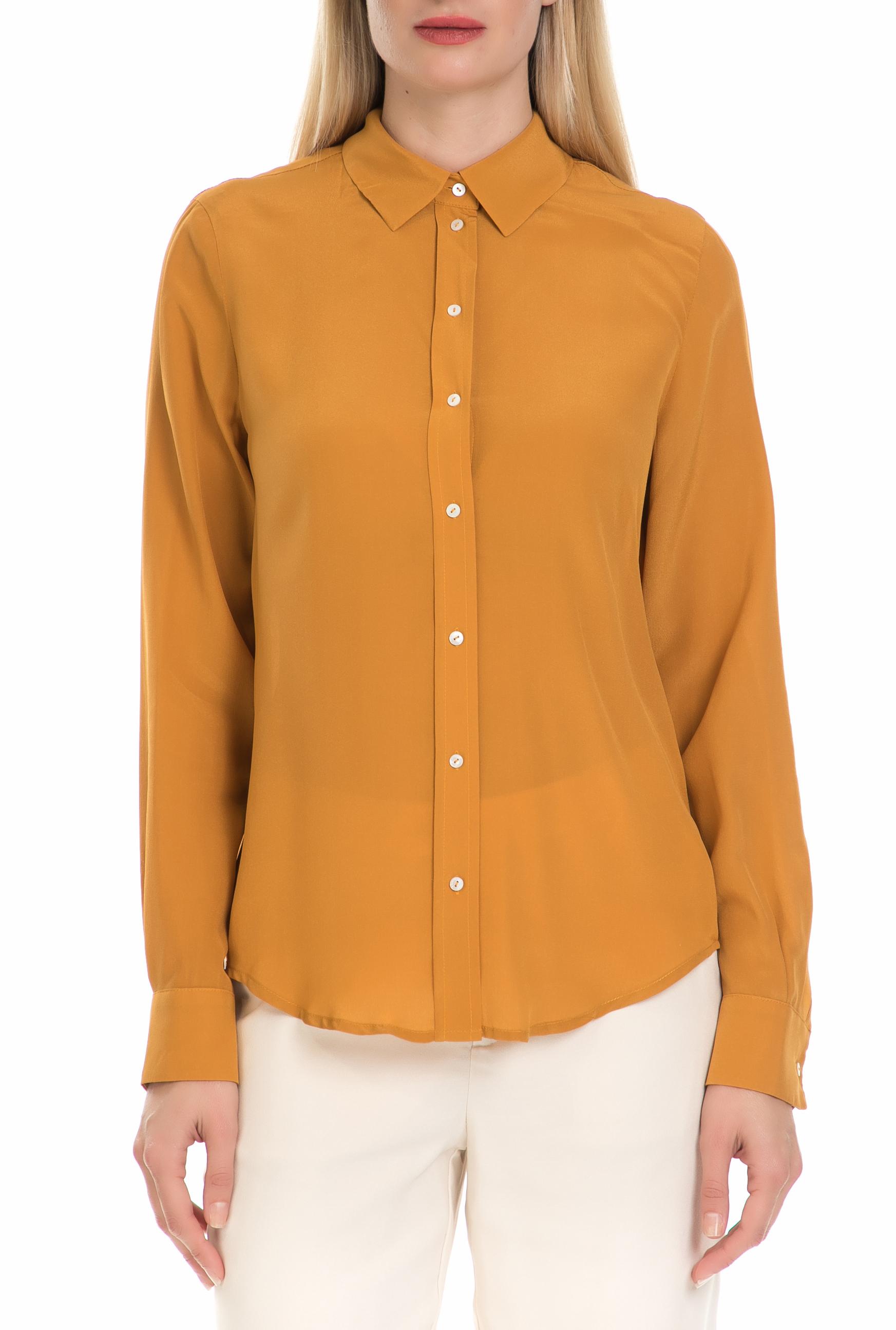 SCOTCH & SODA - Γυναικείο πουκάμισο SCOTCH & SODA κίτρινο