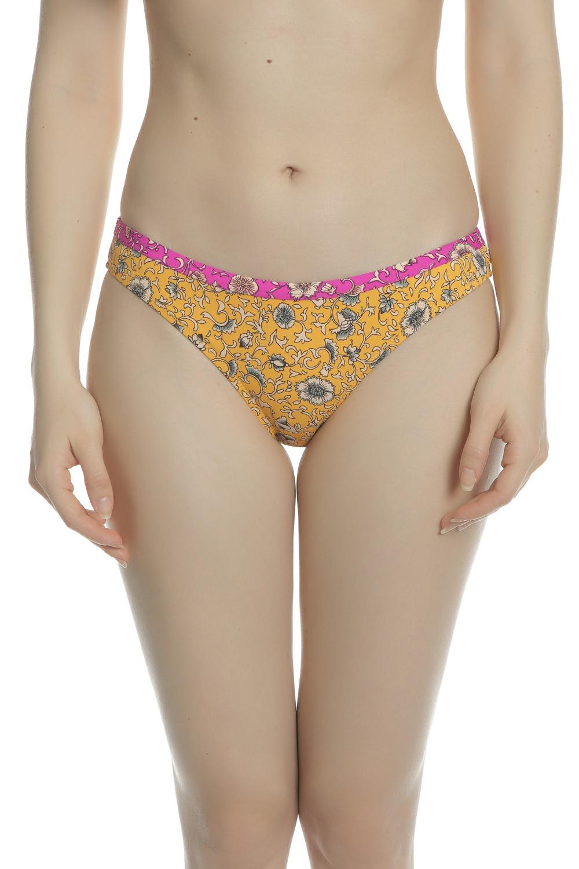 MAISON SCOTCH - Γυναικείο μαγιό σλιπ SCOTCH & SODA κίτρινο
