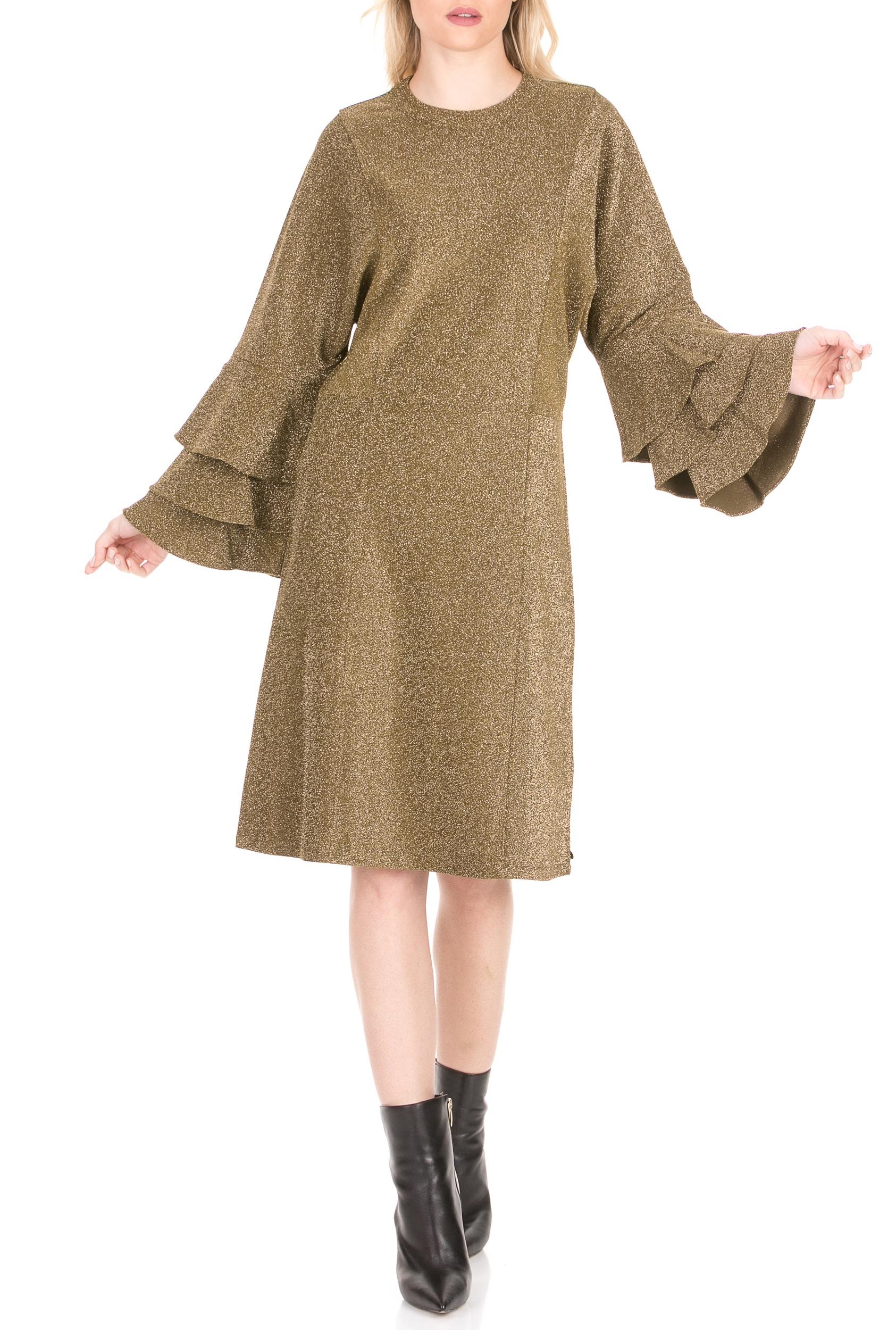 SCOTCH & SODA - Γυναικείο μίνι φόρεμα SCOTCH & SODA πράσινο γυναικεία ρούχα φόρεματα μίνι