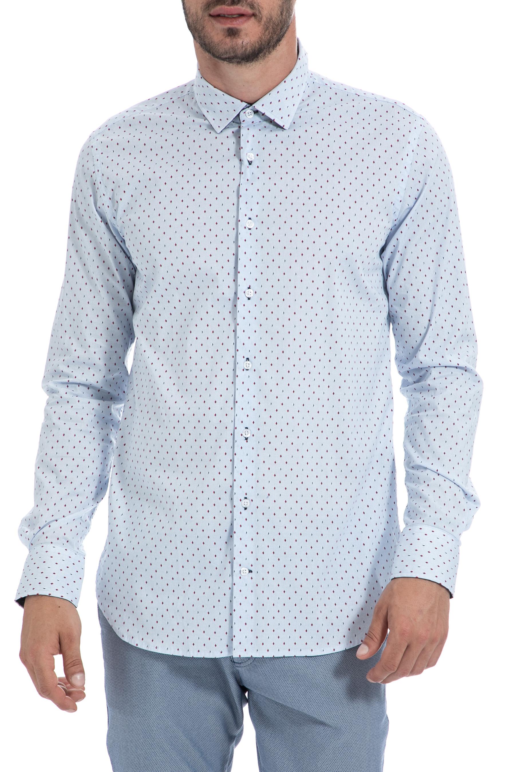 05b60aeed94 SSEINSE - Ανδρικό πουκάμισο SSEINSE γαλάζιο