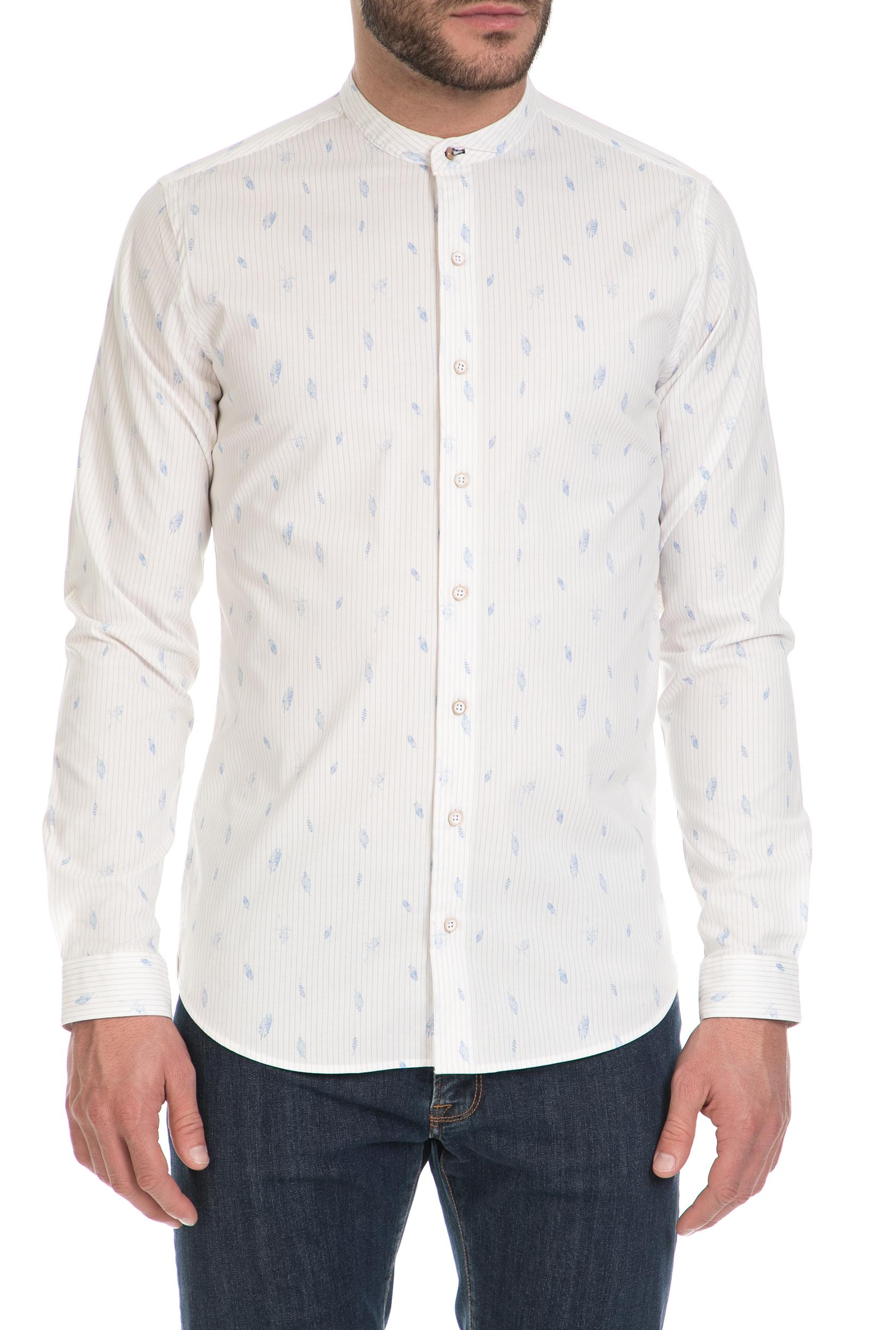 661d7c1dfb0 SSEINSE - Ανδρικό πουκάμισο COREANA SSEINSE λευκό