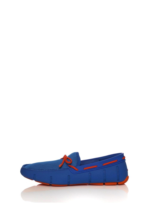 SWIMS – Ανδρικά μοκασίνια SWIMS BRAIDED LACE μπλε